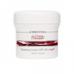 Кристина Chateau de Beaute Shielding Cream SPF 20 St.6 150 ml-Защитный,увлажняющий крем SPF 20 шаг 6