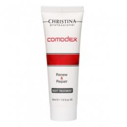 Christina Comodex Renew & Repair Night treatment 50ml - Кристина Комодекс ночная сыворотка для жирной и проблемной кожи,50мл