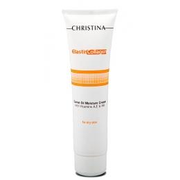 Кристина Elastin Collagen Carrot Oil Moisture Cream 100ml-С коллагеном и морковным маслом для сухой кожи