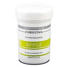 Кристина Sea Herbal Beauty Mask Green Apple 250 мл-Яблочная маска красоты для жирной и комбинированной кожи