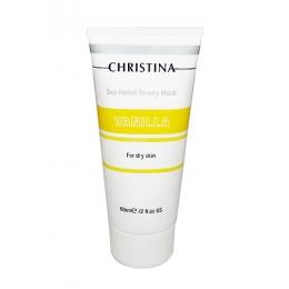 Кристина Sea Herbal Beauty Mask Vanilla 60ml - Ванильная маска красоты для сухой кожи