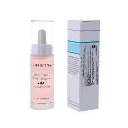 Кристина Line Repair -Theraskin + HA 30мл-Регенерирующие увлажняющие капли Тераскин с гиалуроновой кислотой