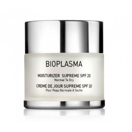 BIOPLASMA Moisturizer Supreme SPF-20,50ml-Крем увлажняющий для нормальной и сухой кожи с SPF-20,50ml