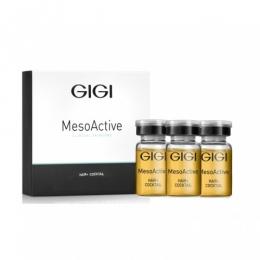 Gigi MesoActive Hair +Cocktail, 5*8мл - Джиджи МезоАктив трихологический коктейль для волос,набор 5*8мл