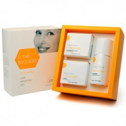 Holy Land C the SUCCESS With Vitamin C- kit (cleanser125ml, day cream 50ml and night cream 50ml )