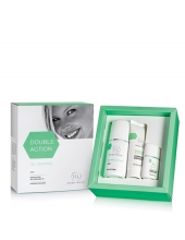 DOUBLE ACTION kit(набор:soap125ml,Hydratant Emulsion 70ml,Drying Lotion Demi Make-up 30ml)
