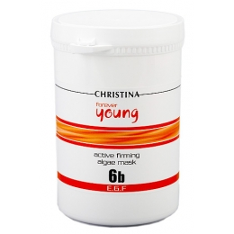 Кристина Forever Young Active Firming Algae Mask 500ml,St.6b-Активная водорослевая маска со спирулиной для подтяжки кожи, Шаг.6b
