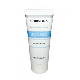 Christina Кристина Sea Herbal Beauty Mask Azulene 60ml - Азуленовая маска красоты для чувствительной кожи