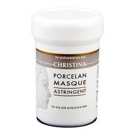 Кристина Porcelan Mask Astringent 250ml - Поросуживающая фарфоровая маска для жирной и проблемной кожи