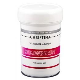 Christina Кристина Sea Herbal Beauty Mask Strawberry 250мл - Клубничная маска красоты для нормальной кожи
