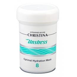 Кристина Анстресс Unstress-8 Optimal Hydration Mask 250мл - Оптимальная увлажняющая маска, Шаг 8