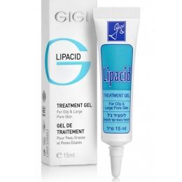 Лечебный подсушивающий гель Липацид Джиджи,15 мл-Lipacid Treatment gel Gigi,15мл