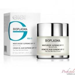 BIOPLASMA Moisturizer Supreme SPF-17,50ml-Крем увлажняющий для нормальной и жирной кожи с SPF-17,50ml