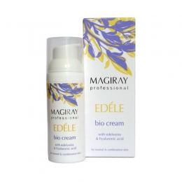 Био-крем с СПФ-18 для комбинированной кожи Эдель Мэджирей,50мл-Bio cream DPF-18 for combined skin Edel,Magiray,50ml