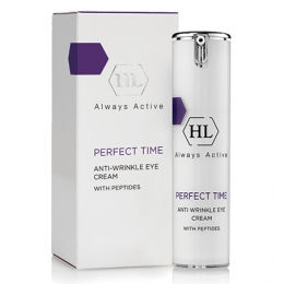 Holy Land PERFECT TIME  Anti Wrinkle Eye Cream,15 мл-Холи Ленд Перфект Тайм  крем для век от морщин с пептидами,15 мл